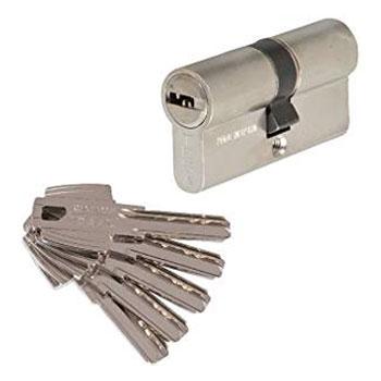 bombín o cilindro de seguridad para cerradura en puerta