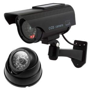 Cámaras de seguridad falsas, vigilancia simulada