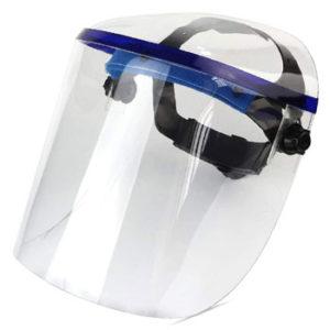 Pantallas faciales o visores de seguridad
