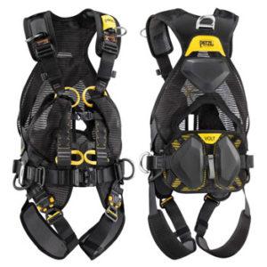 Arneses anticaídas de seguridad, equipo vertical