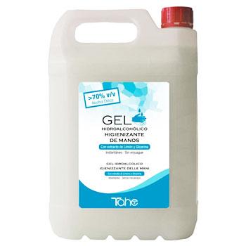 Gel hidroalcohólico para desinfectar manos en formato grande para reponer dispensadores